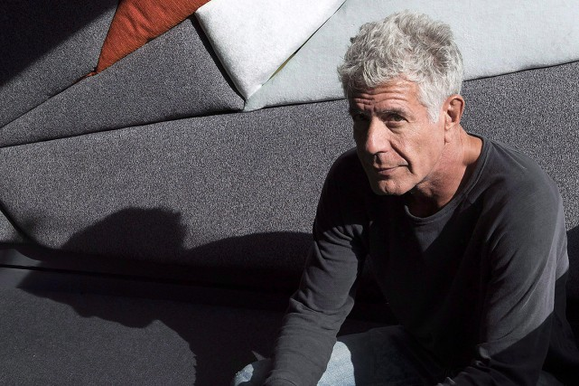 Anthony Bourdain, photographié en octobre 2016.... (Frank Gunn, archives PC)