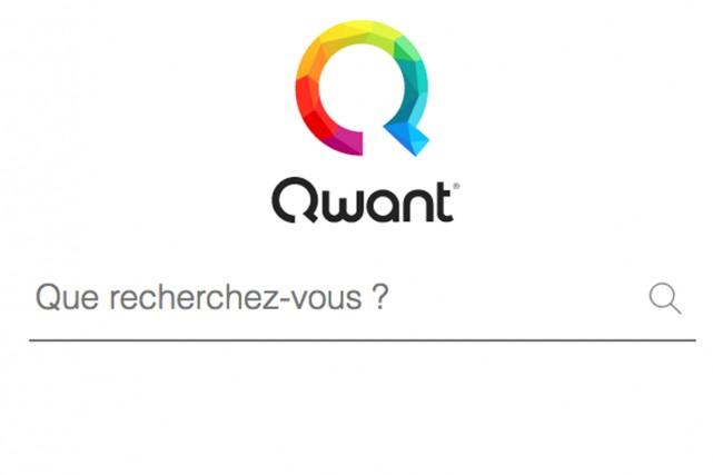 Qwant Music est offert sur le site de... (SAISIE D'ÉCRAN DU SITE QWANT)