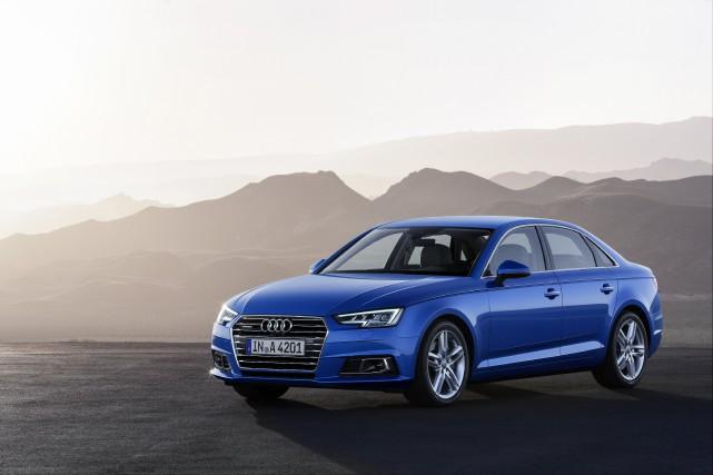 Audi A4 2018.... (Photo Audi)