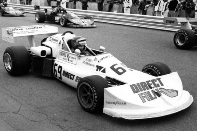 Le 5 septembre 1976, devant 35000amateurs, Gilles Villeneuve... (Photo archives La Presse)