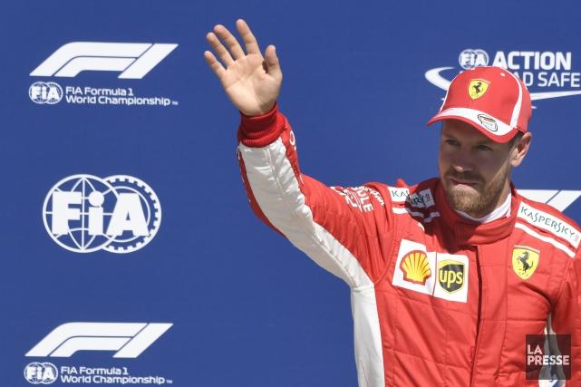 Sebastian Vettel... (PHOTO BERNARD BRAULT, LA PRESSE)