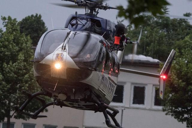Ali Bashar été transféré samedi en hélicoptère à... (AFP)