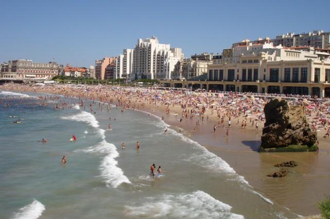 Biarritz est située lelong de laCôte basque.... (PHOTO WIKICOMMONS)
