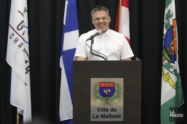 Le maire de La Malbaie Michel Couturier.... (Photo Robert Skinner, La Presse)