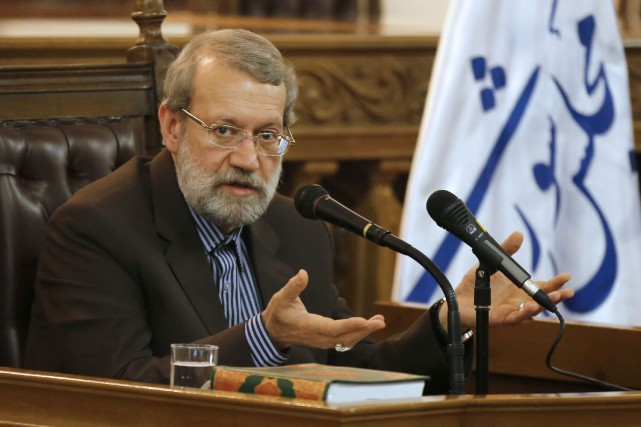 Le président du parlement iranien Ali Larijani.... (Photo Atta Kenare, archives Agence France-Presse)