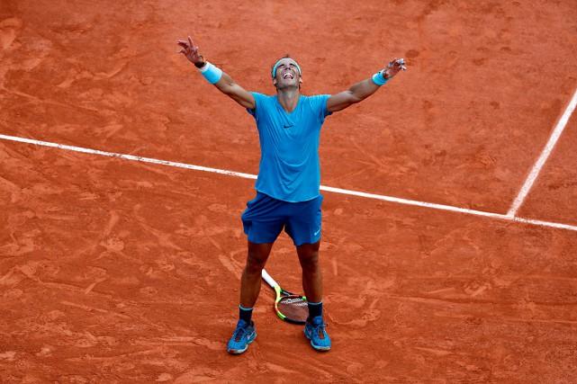 Rafael Nadal a ajouté un11etitre à Paris à... (PHOTO THOMAS SAMSON, AGENCE FRANCE-PRESSE)