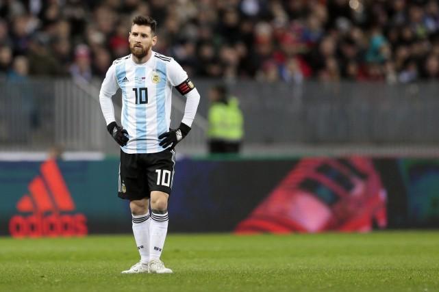 Lionel Messi... (archives AP)