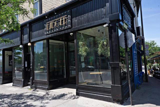 Le restaurant Ludger, dans le quartier Saint-Henri, vient... (Photo Patrick Sanfaçon, Archives La Presse)