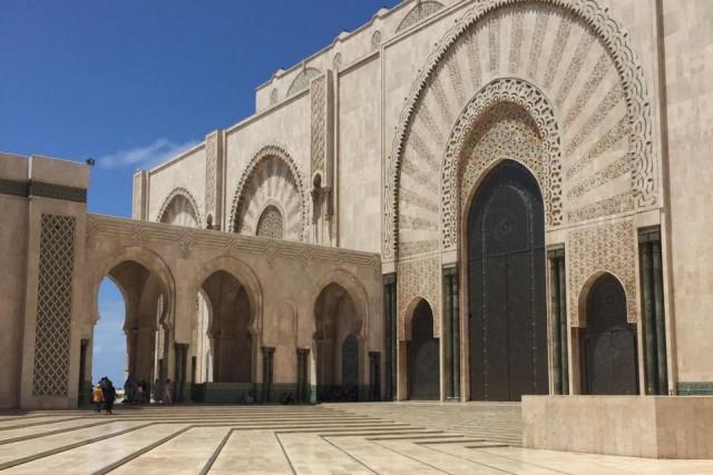 La mosquée Hassan II,achevée en 1993, accueille une... (Photo SophieLachance, collaboration spéciale)