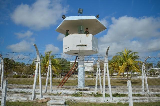 La prison Combinado del Este à La Havane.... (Photo Adalberto ROQUE, archives Agence France-Presse)