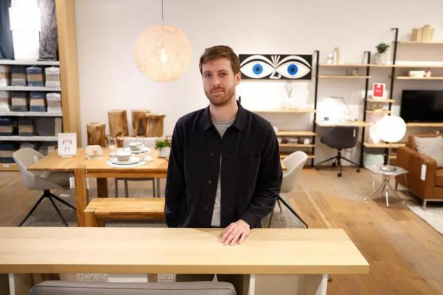 Dans l'ombre d'EQ3, Thom Fougere a un studio... (PHOTO MARTIN CHAMBERLAND, LA PRESSE)