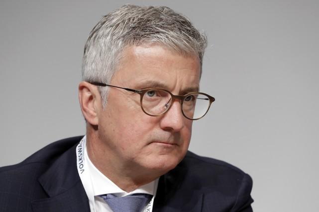 Le domicile de Rupert Stadler, PDG d'Audi AG,... (AP)