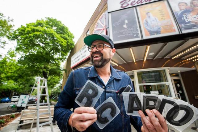 Ricardo Trogi nous parle de ses souvenirs cinématographiques... (Photo Marco Campanozzi, La Presse)
