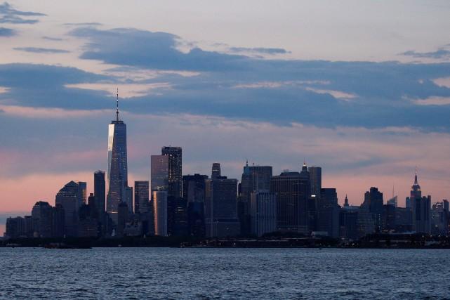 Une vue de Manhattan.... (Photo Brendan McDermid, archives REUTERS)