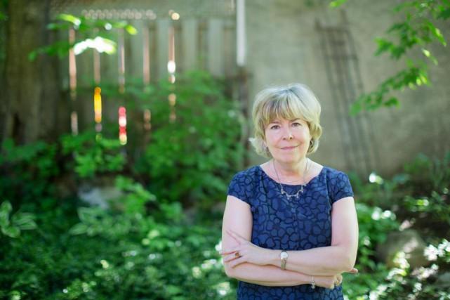 L'auteure Suzanne Aubry... (Photo Edouard Plante-Fréchette, Archives La Presse)