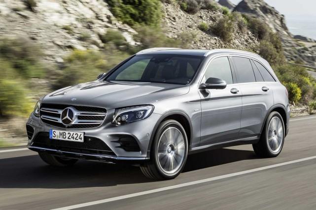 Un Mercedes-Benz GLC diesel 2015, comme ceux qui...