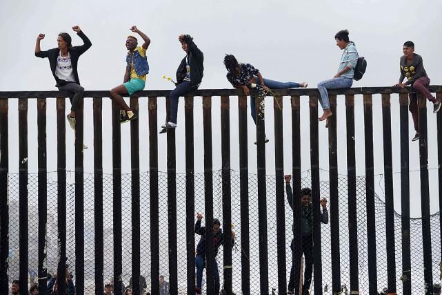 De nombreux ressortissants du Guatemala, du Honduras et... (ARCHIVES AFP)