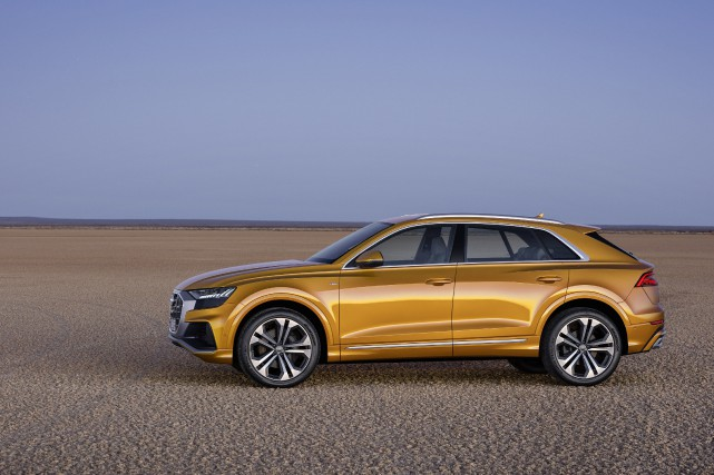 Le nouvel Audi Q8... (photo Audi)