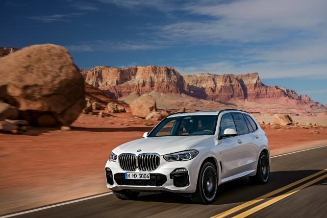 Le BMW X5... (Photo BMW)