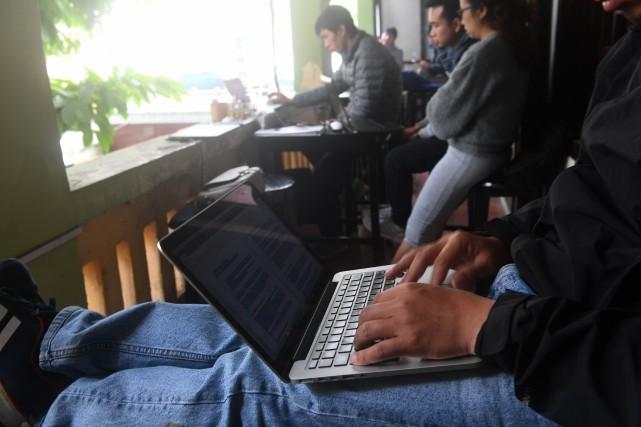 «Dans ce pays très répressif, l'espace en ligne... (AFP)