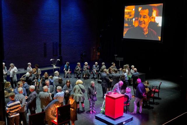 Un hommage émouvant a été rendu hier àl'acteur... (Photo André Pichette, La Presse)