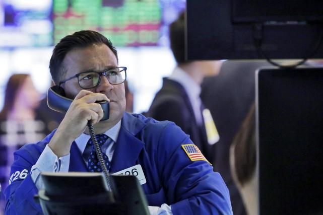La Bourse de New York avait déjà pâti... (Photo archives AP)