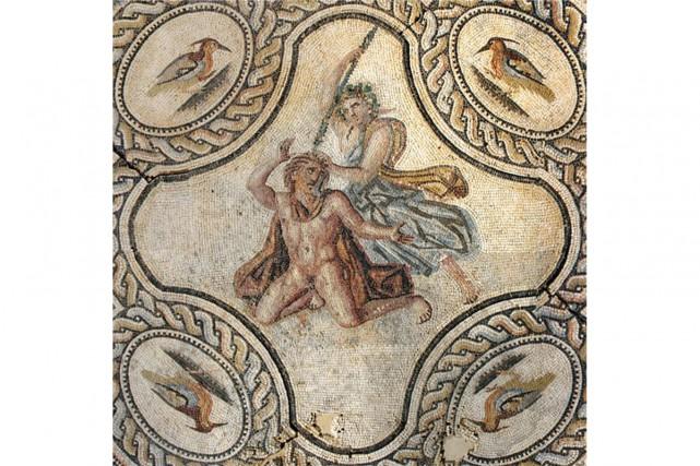 Une mosaïque exposée au nouveau Musée de la... (Photo fournie par le Musée de la Romanité)