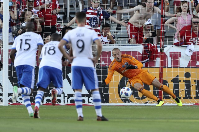 Contre le FC Dallas le week-end dernier, l'Impact... (Photo Kevin Jairaj, USA Today Sports)