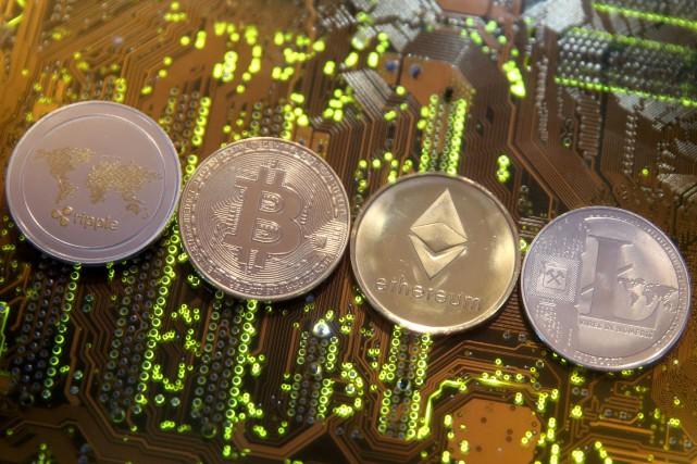 À l'origine du bitcoin, créé en 2009, figurait... (REUTERS)