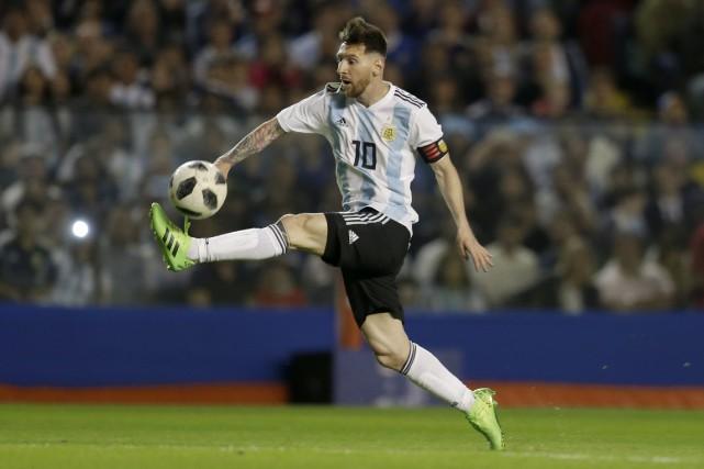 Lionel Messi... (Photo Natacha Pisarenko, archives AP)
