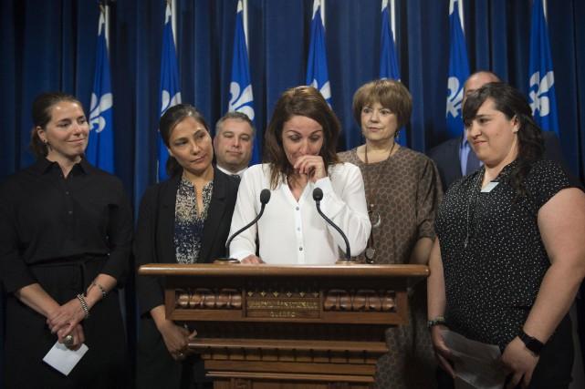 «Ça a été une semaine forte en émotion.... (Photo Jacques Boissinot, La Presse canadienne)