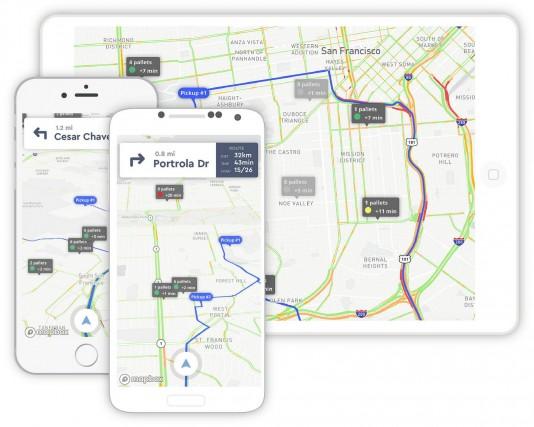 Mapbox fournit les données routières à des sociétés... (photo Mapbox)