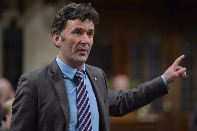 Paul Dewar, qui a représenté la circonscription d'Ottawa-Centre... (Photo Adrian Wyld, archives La Presse Canadienne)