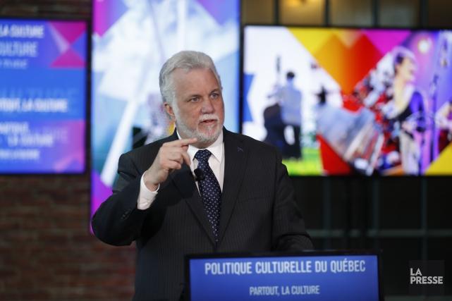 Philippe Couillard a ajouté que son gouvernement «ferait... (Photo Martin Chamberland, La Presse)