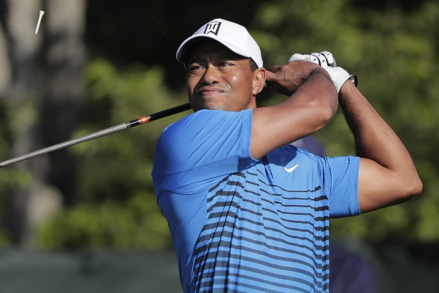 Il y a maintenant 10 ans que Tiger... (PHOTO AP)