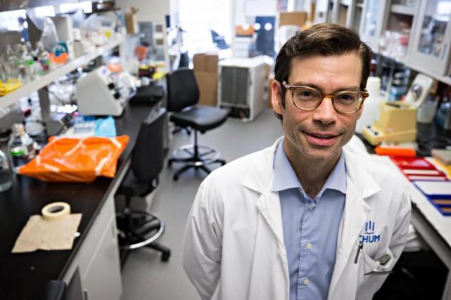 Le DrSimon Turcotte, chirurgien oncologue et chercheur en... (Photo Patrick Sanfaçon, La Presse)
