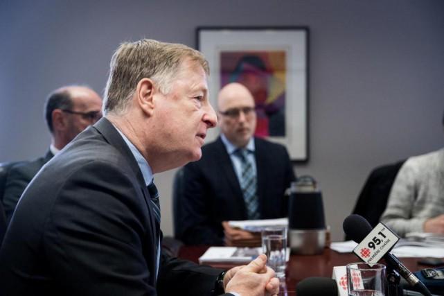 Marc Demers, maire de Laval... (Photo Marco Campanozzi, archives La Presse)