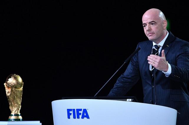 Gianni Infantino.... (Mladen ANTONOV, AFP)