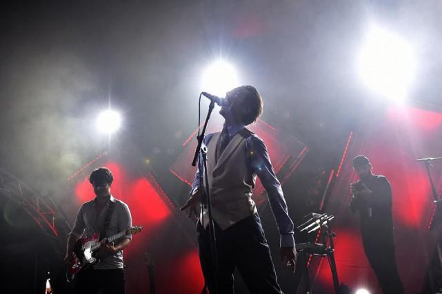 Feu! Chatterton en spectacle à Crozon, enFrance, en... (Photo Loïc Venance, archives Agence France-Presse)