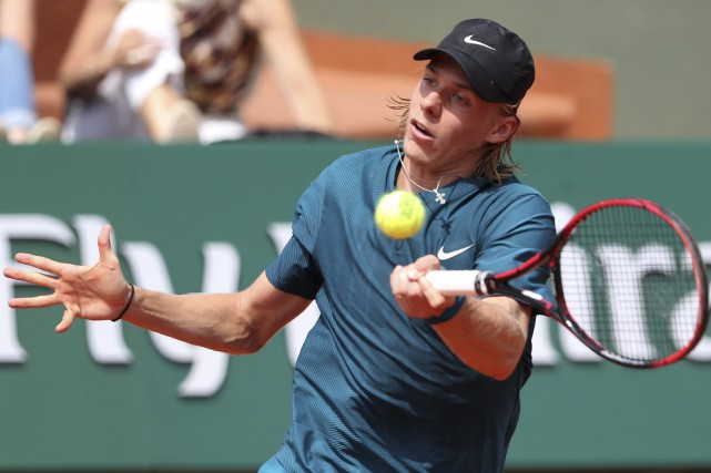 Denis Shapovalov... (Photo Thibault Camus, archives AP)