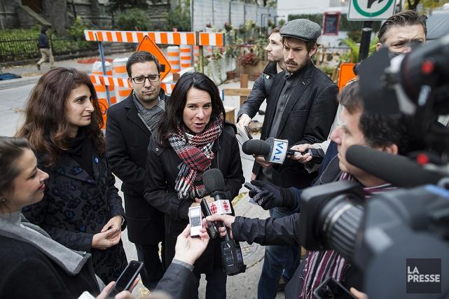 En octobre2017, l'aspirante mairesse de Montréal, Valérie Plante,... (Édouard Plante-Fréchette, archives La Presse)