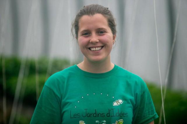 Rachel Dionne, 24ans, Sainte-Hélène-de-Chester... (PHOTO FRANÇOIS ROY, LA PRESSE)