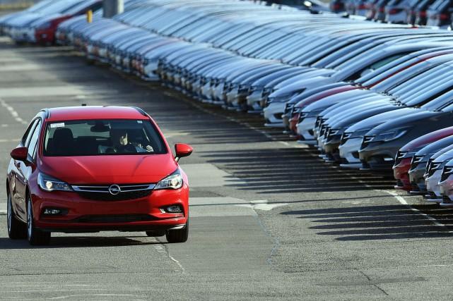 Le secteur automobile anglais était en plein essor... (photo AFP)