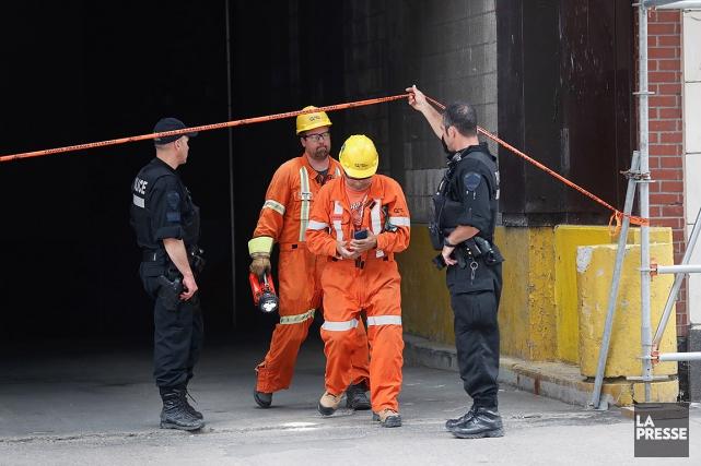 Un transformateur a explosé plus tôt dans les... (Patrick Sanfaçon, La Presse)