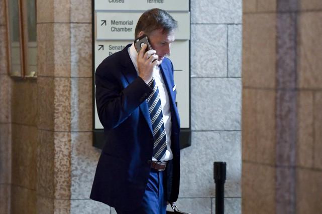Le député conservateur Maxime Bernier... (Photo Justin Tang, LA PRESSE CANADIENNE)