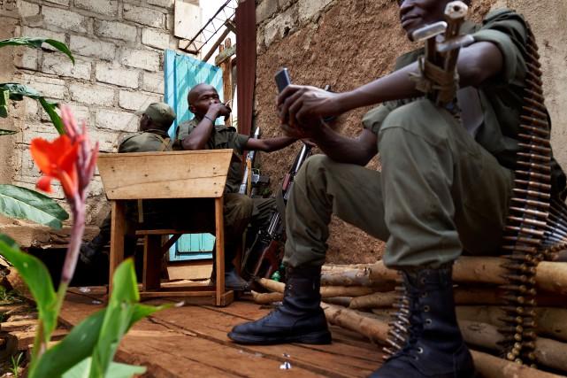 Les provinces du Nord et du Sud-Kivu sont... (Photo Alex McBride, Agence France-Presse)