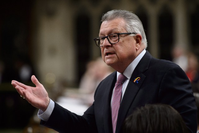 Le ministre de la Sécurité publique, Ralph Goodale... (PHOTO Sean Kilpatrick, ARCHIVES LA PRESSE CANADIENNE)