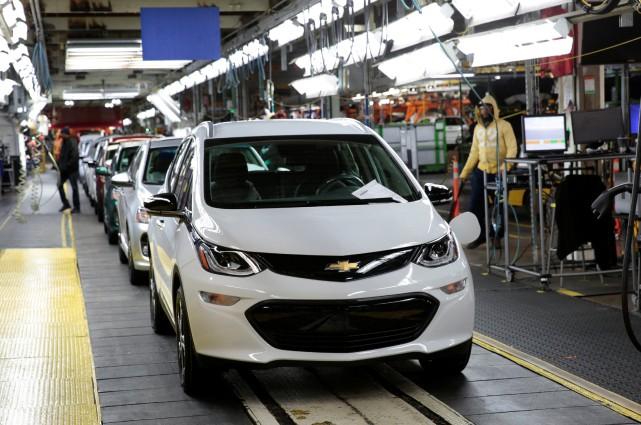 La Chevrolet Bolt ne se vend pas trop... (REUTERS)