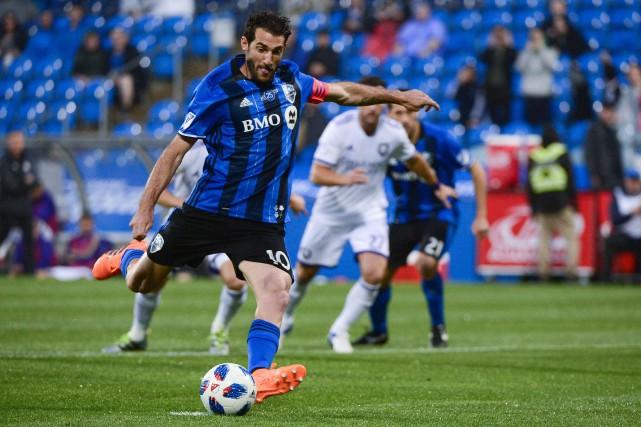 IgnacioPiatti a fait mouche sur un penalty dès... (PHOTO PC)