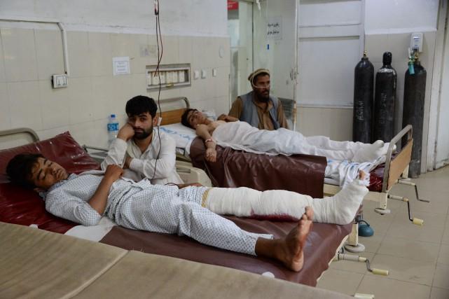 La clinique disposait d'une vingtaine de lits qui... (AFP)